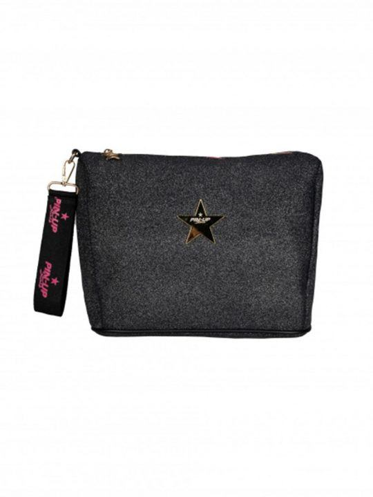 Pochette Donna in nero lurex Pin Up Stars - 20P490XB34